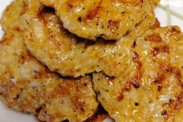 Chicken kebab patties