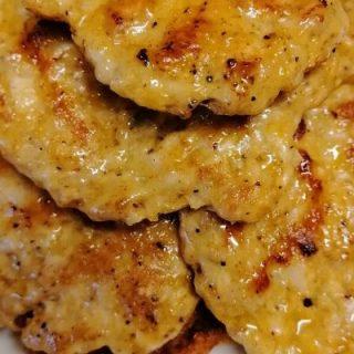 grilled chicken kebab patties