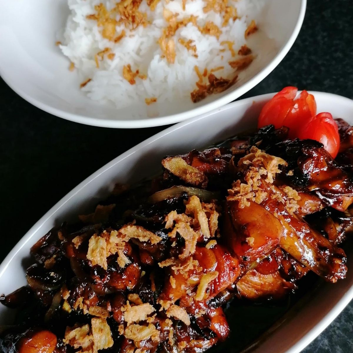 Ayam kecap - Indonesian sweet soy chicken