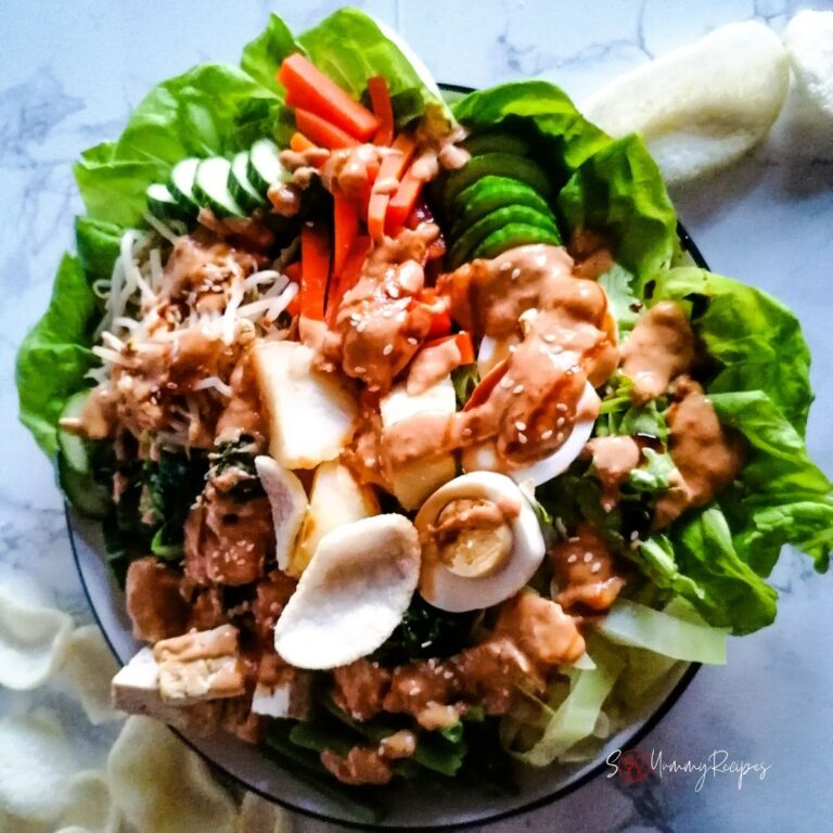 Gado-gado Jakarta recipe