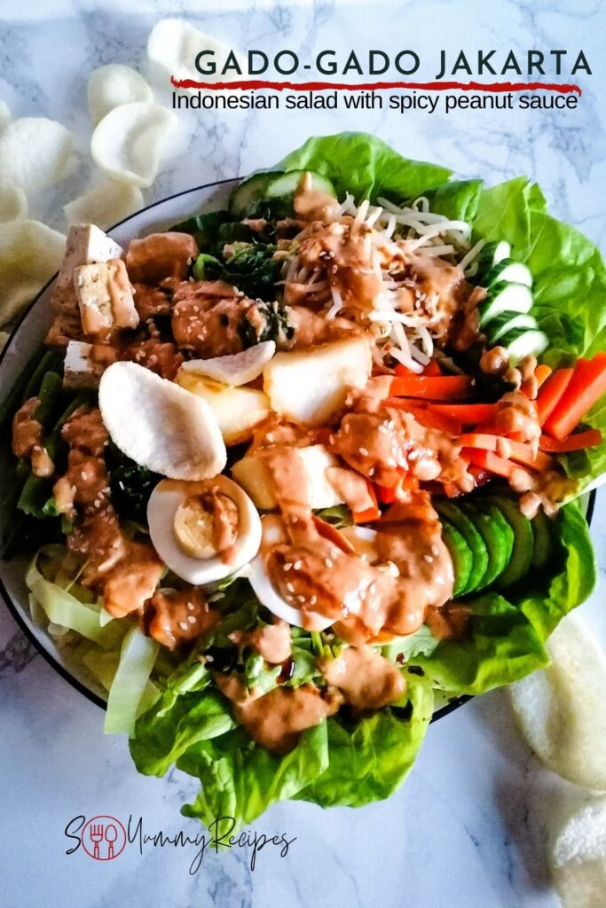 Gado Gado Jakarta Recipe So Yummy Recipes