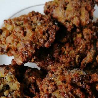 Mung bean fritters - perkedel kacang hijau