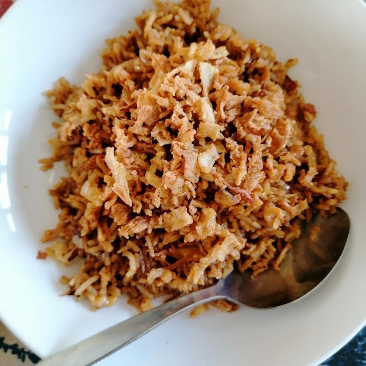 Nasi Goreng Tuna - Indonesian tuna fried-rice