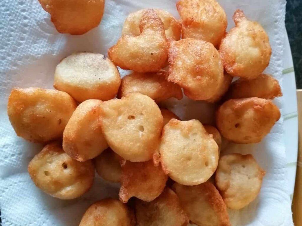 ready fried daal pakora for dahi baray