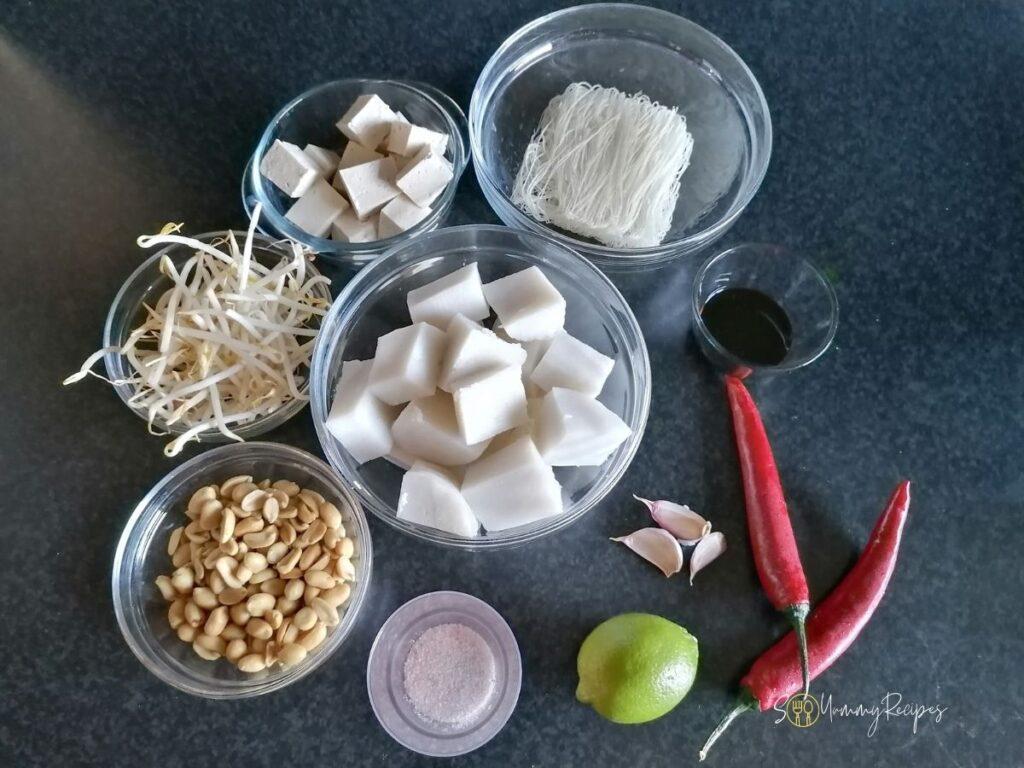ingredients for ketoprak