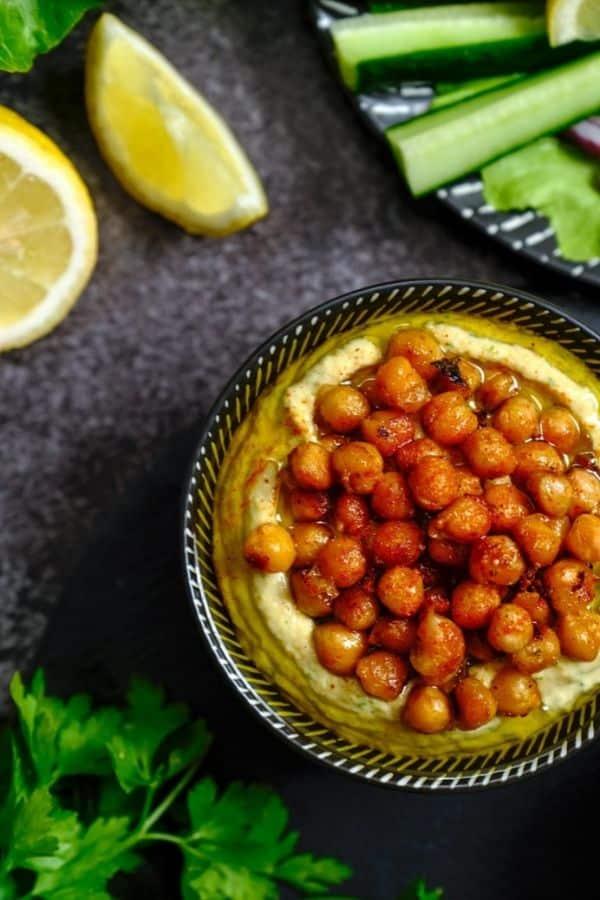 Lebanese musabaha for Eid's food breakfast