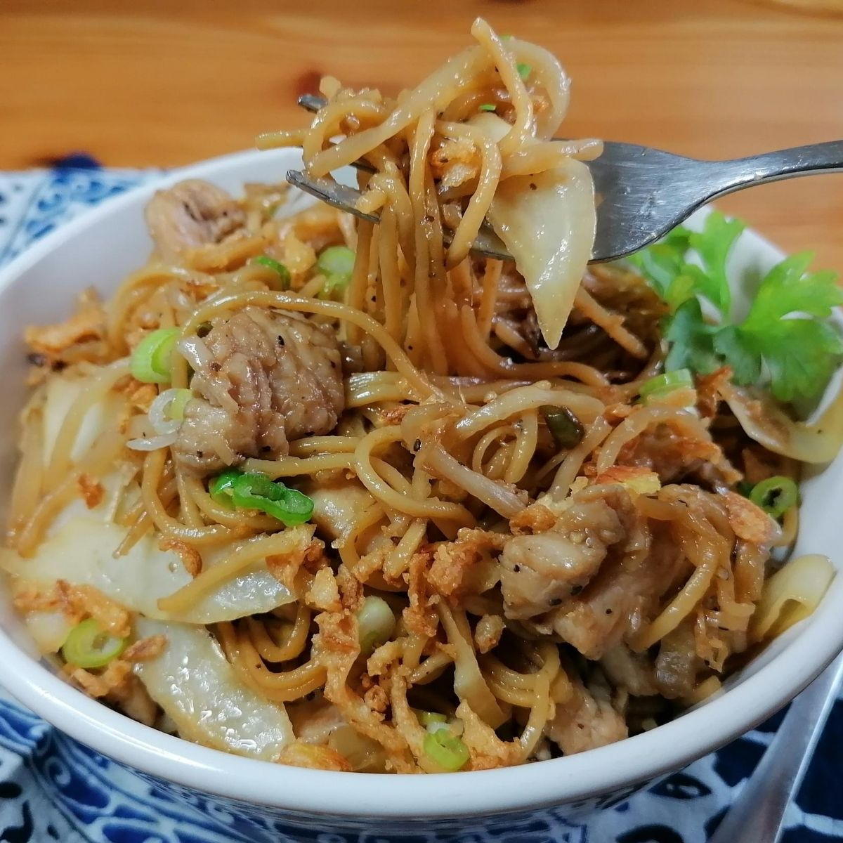 Mie goreng - Indonesian stir-fried noodles