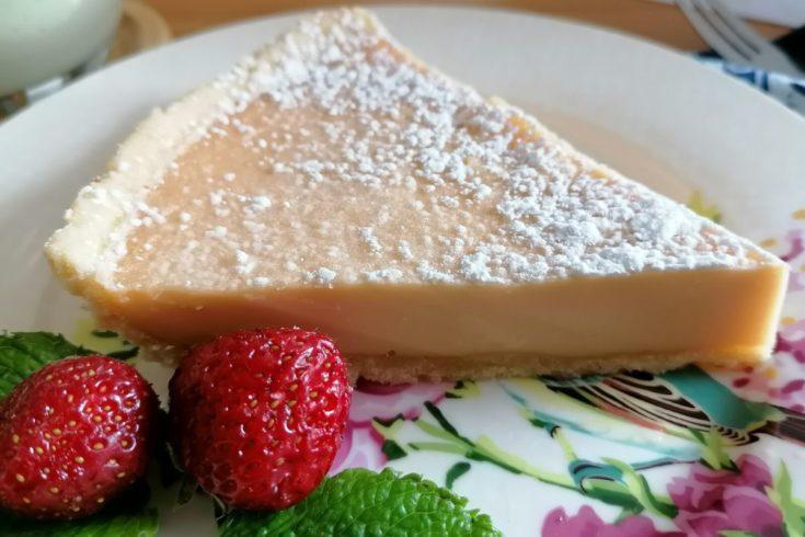 Milk custard pie
