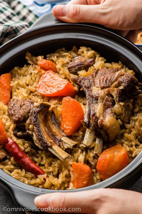 Uyghur's pilaf rice