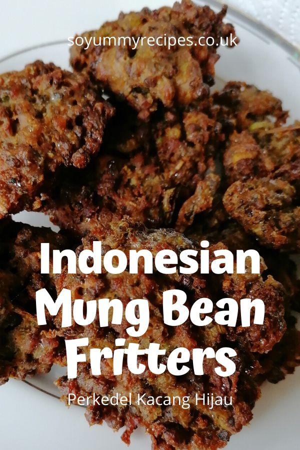 Indonesian Perkedel Kacang Hijau