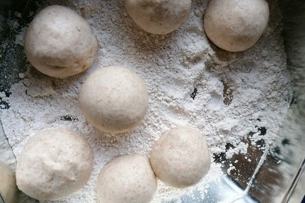 chapati dough balls