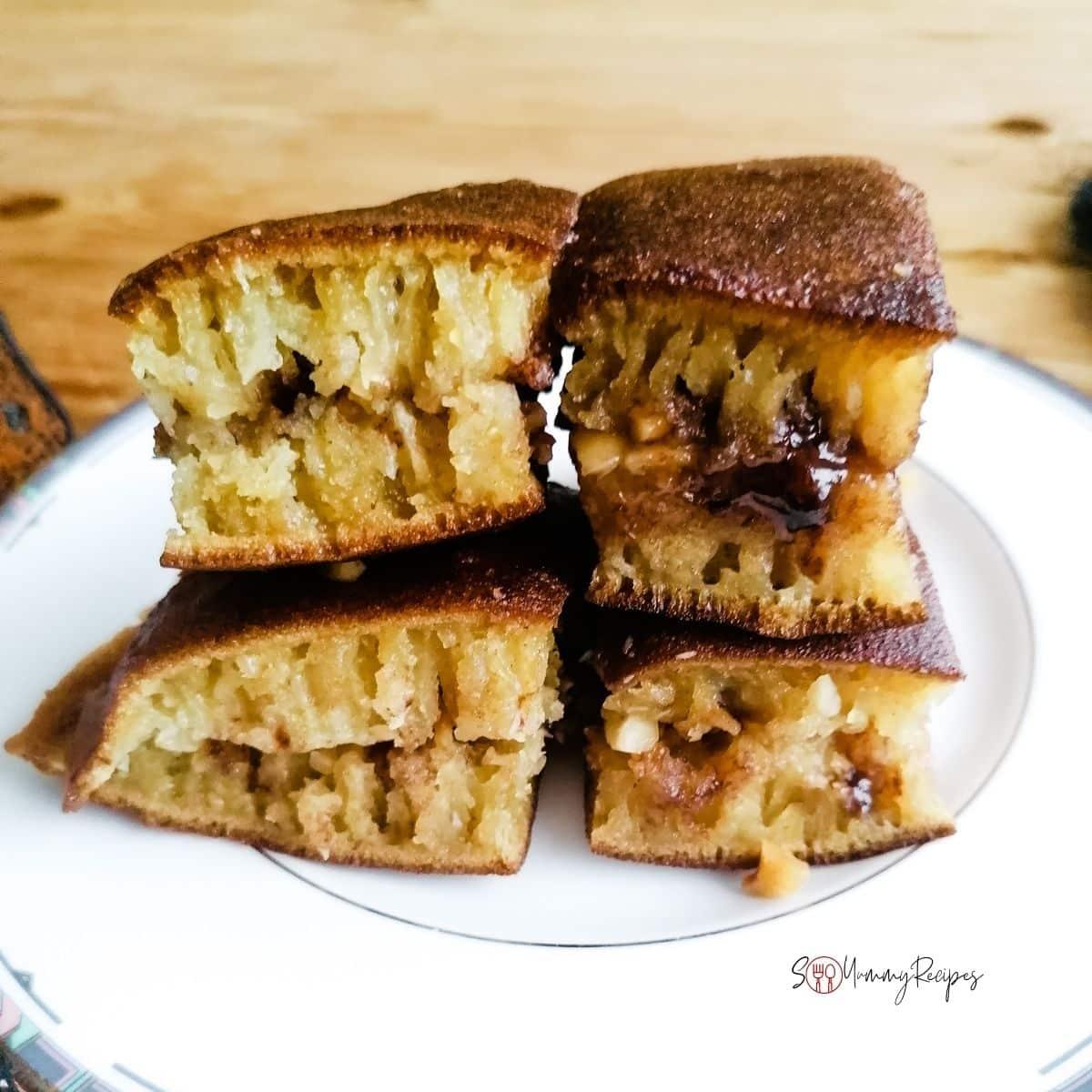 Martabak Manis - Indonesian sweet thick pancake
