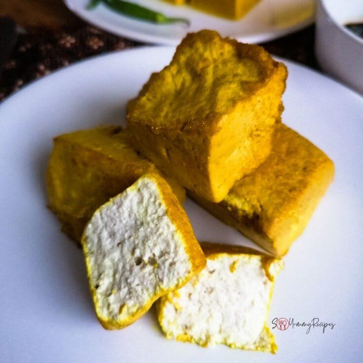Tahu Kuning - Indonesian yellow tofu