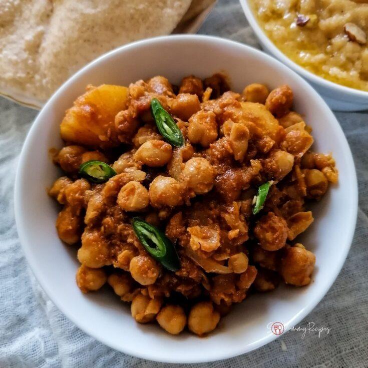 Aloo Chana Curry