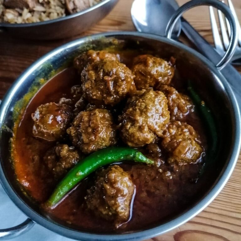 Easy Recipe of Lamb Kofta Curry Pakistani Style