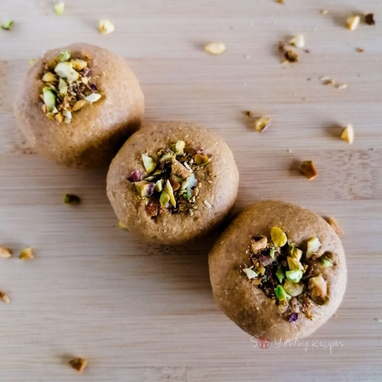 Besan Ladoo Recipe – chickpea flour sweet balls