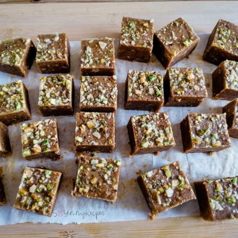 Besan Barfi: Spiced & Nutty Chickpea Fudge