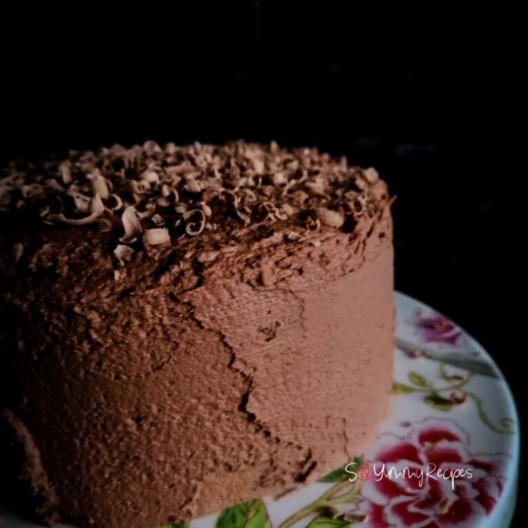 Simple Chocolate Cake Recipe With Chocolate Mousse Frosting