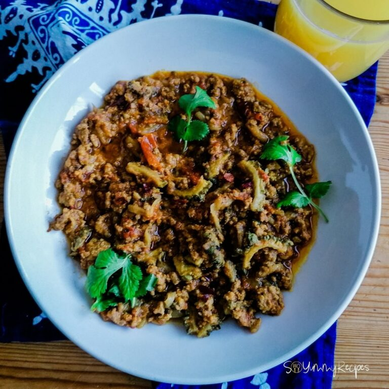 Keema Karela Recipe: Minced Meat Curry With Bitter Gourd