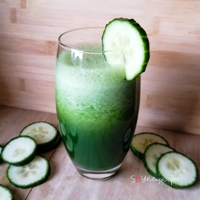 Cucumber And Kale Smoothie: The Tasty Drink To Boost Your Alkaline