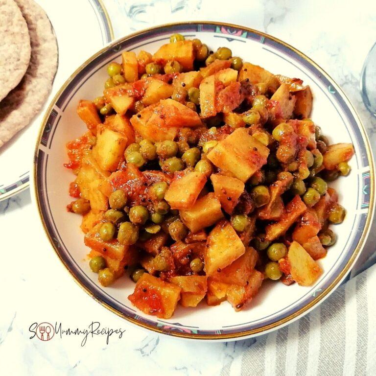 Aloo Matar: Potato And Green Peas Curry Recipe Pakistani Style