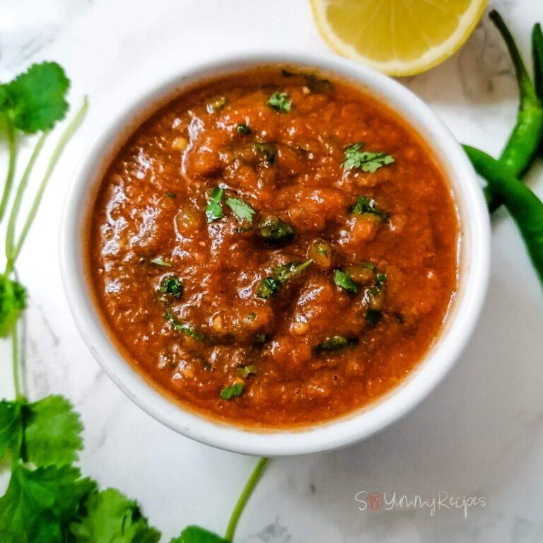 Tomato And Chilli Chutney Pakistani Style Recipe: Easy And Quick