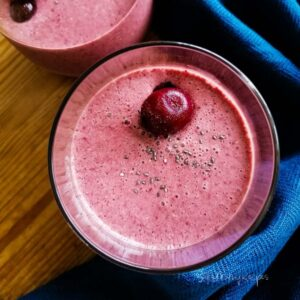 Cherry Smoothie Recipe With Yogurt And Without Banana