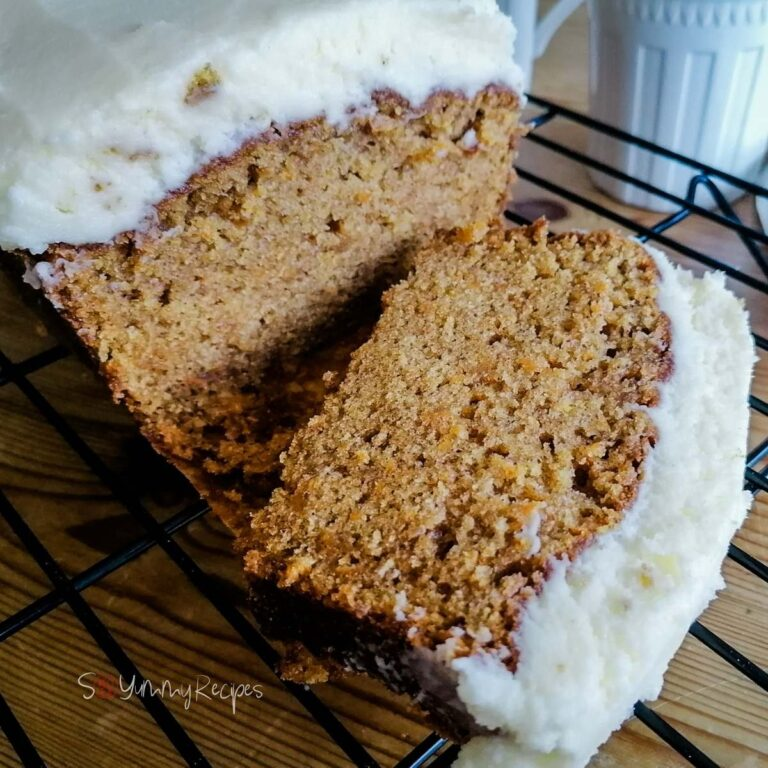 Carrot Cake Loaf Recipe With Mascarpone Frosting And No Nuts